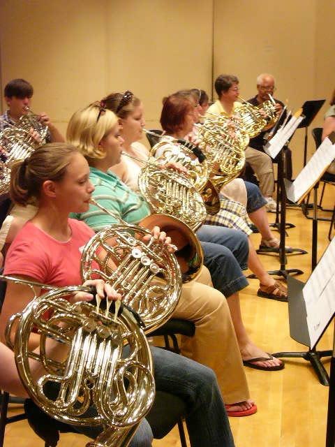 May, 2007 Horn Choir